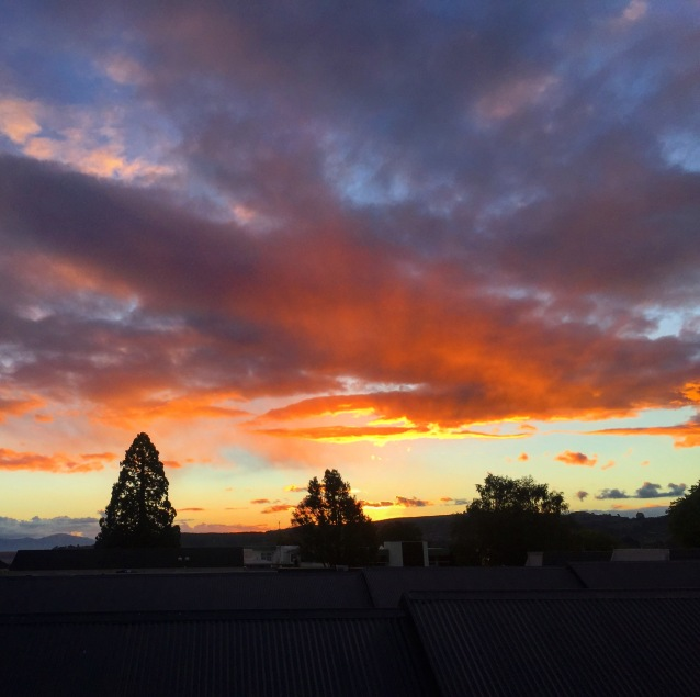 Taupo sunset 1